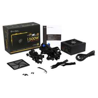 SilverStone Strider Gold 1500W (Fully Modular, Gold Rated Efficiency, SST-ST1500-GS)