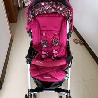 Capella - stroller and infant car seat -combo