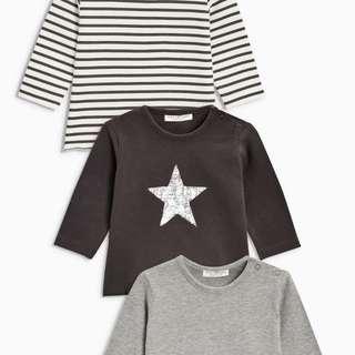 Multi T-Shirts Three Pack