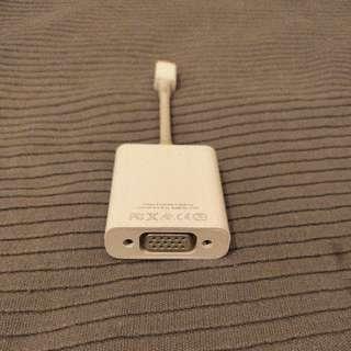 Apple MiniDisplay Port to VGA Adapter