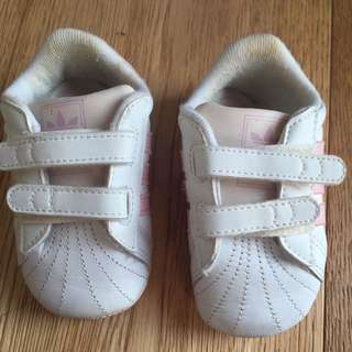 BN Baby Girls Adidas Shoes