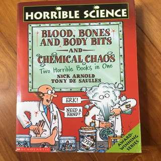 Horrible Science- Blood, Bones & Body Bits & Chemical Chaos