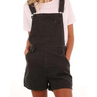 Lee overalls black