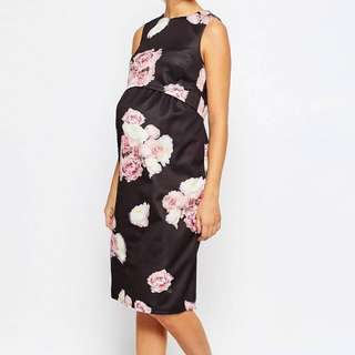 Asos maternity dress (with nursing insert)
