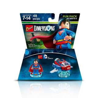 BOZHI 98070-4 Dimensions 3in1 Superman Hover Pod