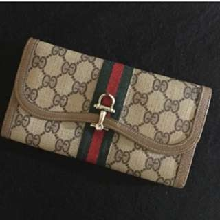Authentic Vintage Gucci Wallet