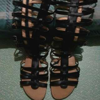 Gladiator Sandal And Flat Sandal