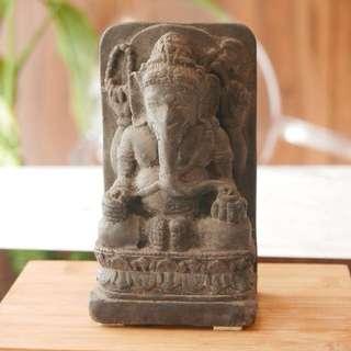 Indian Elephant God Stone Scupture
