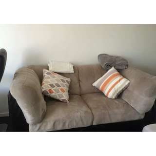 Super comfy 2 or 3 seater couch - excellent condition