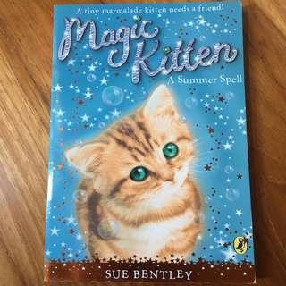 Magic Kitten- A Summer Spell