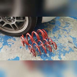 GAB Lowered Sport Spring For Honda Jazz Fit GK5