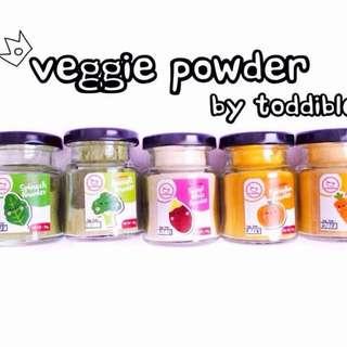 Toddible Veggie Powder