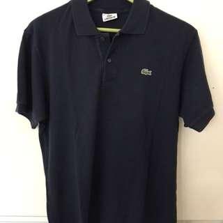 Lacoste shirt Navy Blue sz M