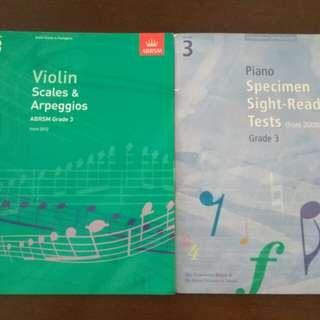 Violin Grade 3