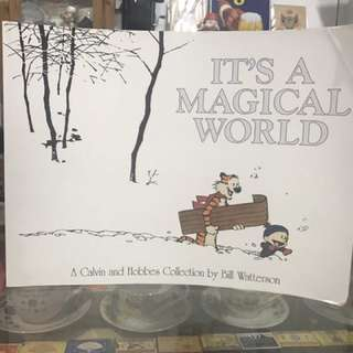 Comic Book: Calvin & Hobbes - It's a Magical World by Bill Waterson