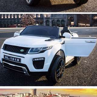 In stock White Range Rover Kids Electric Car With Opening Doors