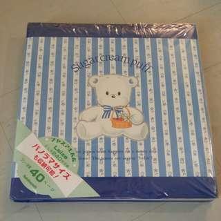 Sanrio 絕版 sugar cream puff 雪熊 粘貼 相簿 罕