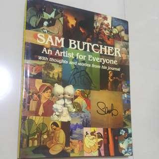 #HUAT50SALE Sam Butcher - Art book with signaturr