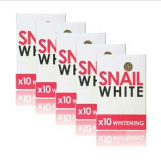Snail White Soap