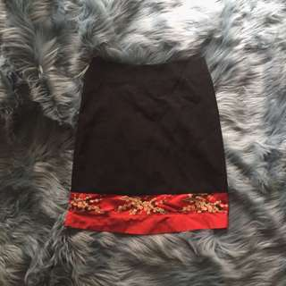 Vintage Oriental Skirt