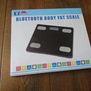 Ez home bluetooth body fat scale 藍牙脂肪電子磅