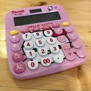 Hello Kitty Electronic Calculator