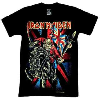 13R166 IRON MAIDEN BLACK HORSE LIMITED EDITIONS