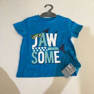 BNWT Mothercare jawsome dude tee (18-24m)