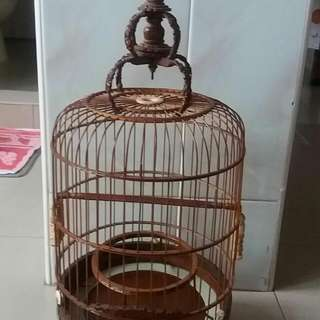 Old Banzi Puteh Cage