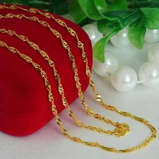 Necklace Twist Design
