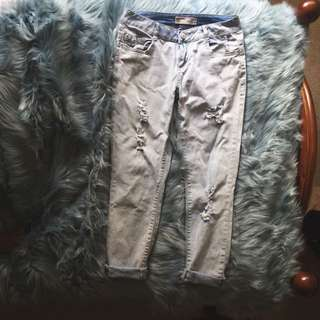 Light Blue Boyfrjend Jeans