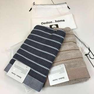 浴巾 毛巾 Towel 4色(白,灰,啡,駝)可選