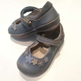 Original Leather Clarks Girl Shoes