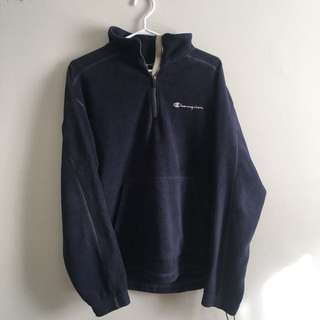 Blue Fleece Champion pullover