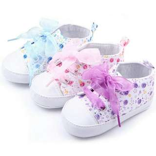 Baby Girl Pre-walker Soft Sole Shoes
