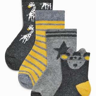 Ochre Socks Four Pack