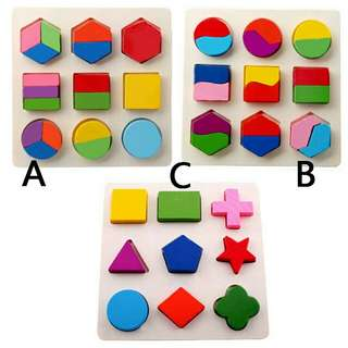Educational Shapes puzzle