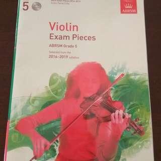 Violin Exam Pieces Grade 5