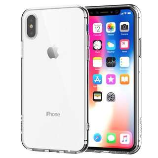 iPhone X Shockproof Case Crystal Clear TPU