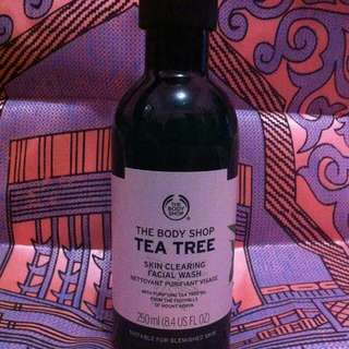 The body shop tea tree skin clearing facial waah