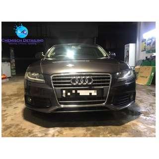 Audi A4 ( Full Polishing Plus Sealant)
