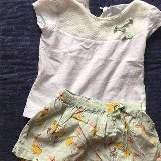 Top and Skirt Terno