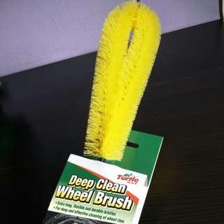 Wheel brush