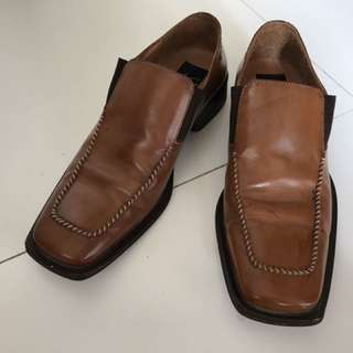 Aldo Brue' and Adolfo Carli Italian made men shoes.