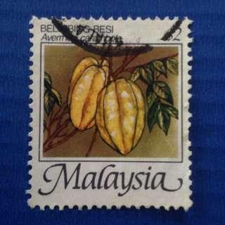 Malaysia 1986 Fruits of Malaysia $2 Used SG347c (0200)
