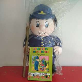 "[WTS] [Reduced Price] Sealed Mr Plod Policeman Plushie Fr Vintage The Noddy & Friends. Sz Abt H20xW10 Inch. Nvr Been Played Or Displayed. With Free ""Noddy Gets Into Trouble"" StoryBook. See All Pics"