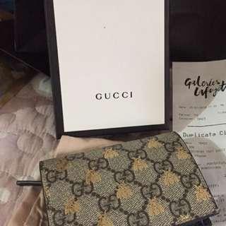 Gucci卡片銀包