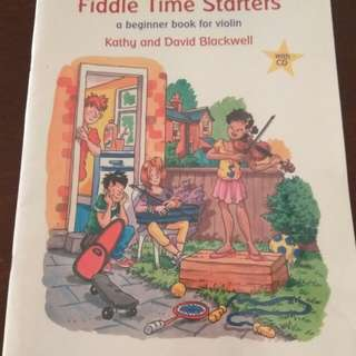 Violin music book, Fiddle Time Starter