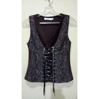 Tanktop With Brocade