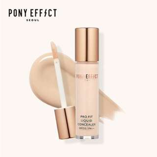 Pony Effect Pro Fit Liquid Concealer SPF30/PA++ Available in Fair shade only